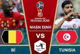 Link Sopcast World Cup 2018: Bỉ vs Tunisia 19h00 23/06/2018