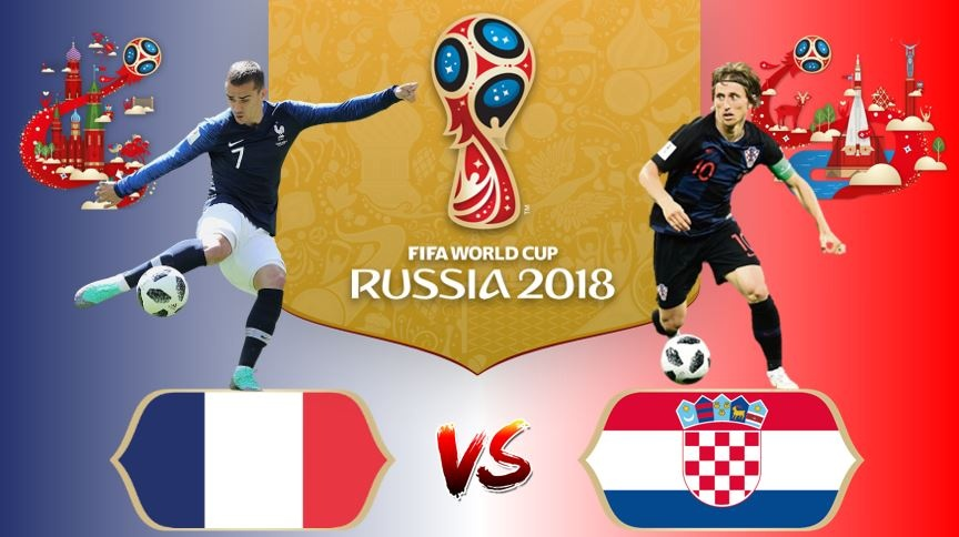Link Sopcast World Cup 2018: Pháp vs Croatia 22h 15/07